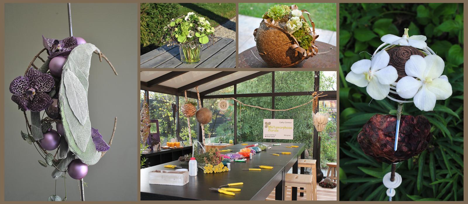 Métamorphose Florale - Atelier d'art floral à Mérignies